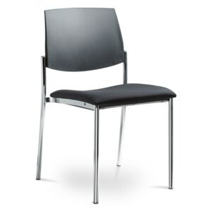LD SEATING židle SEANCE ART 190-N4, kostra chrom