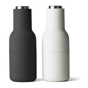 Mlýnky Bottle Ash/Steel – set 2 ks Menu