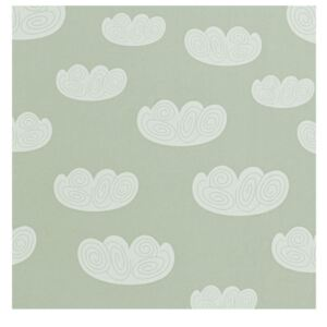 Ferm Living Tapeta Cloud, mint