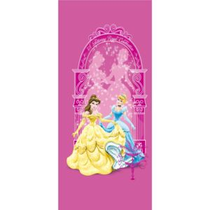 AG Design 1 dílná fototapeta PRINCESSES ON PINK FTDNV 5421, 90 x 202 cm vlies