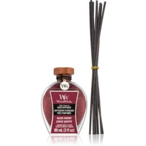 Woodwick Black Cherry aroma difuzér s náplní 89 ml