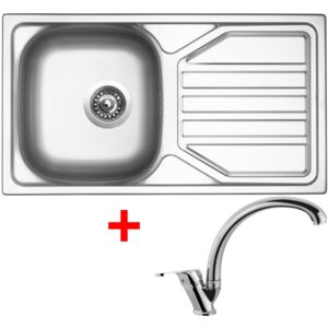 Set Sinks OKIO 780 V matný + baterie EVERA