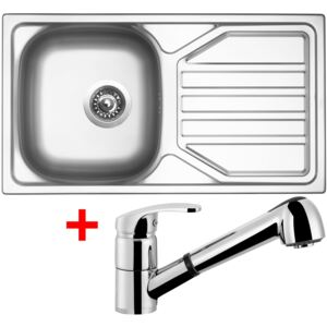 Set Sinks OKIO 780 V matný + baterie LEGENDA S