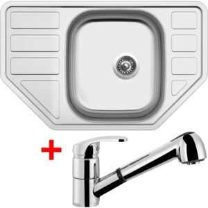 Set Sinks CORNO 770 V matný + baterie LEGENDA S