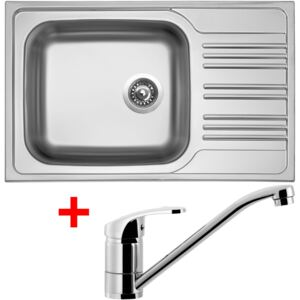 Set Sinks STAR 780 XXL V matný + baterie PRONTO