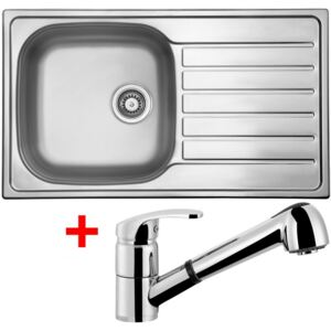 Set Sinks HYPNOS 860 V matný + baterie LEGENDA S