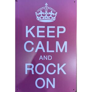 Cedule Keep Calm and Rock On