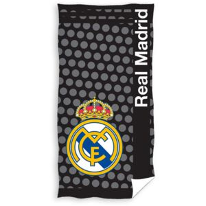CARBOTEX Osuška REAL MADRID PUNTOS 75x150 cm