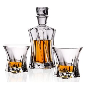 Aurum Crystal Whisky set COOPER (1+2)