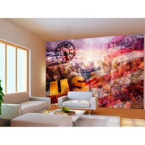 Tapeta USA New York (150x105 cm) - Murando DeLuxe
