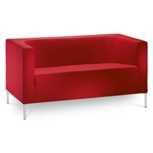 LD seating KUBIK/2-S - Dvoumístné sofa - Bordó