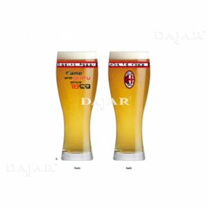 Sklenice na pivo Fame and Glory AC Milan 500 ml