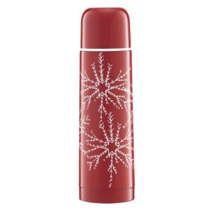 Termos Winter Snowflake Red 500 ml AMBITION