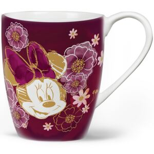 Porcelánový hrnek Minnie Flowers Purple 400 ml DISNEY PL NÁPISY