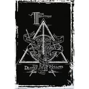 Plakát Harry Potter: Deathly Hallows Graphic (61 x 91,5 cm)