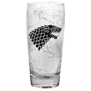 Sklenice Game Of Thrones|Hra o trůny: Stark King In The North (objem 550 ml)