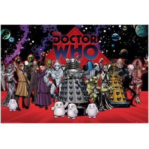 Plakát Doctor Who: Compilation (61 x 91,5 cm) [FP4480] CurePink