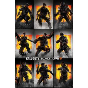 Plakát Call Of Duty Black Ops 4: Characters (61 x 91,5 cm)