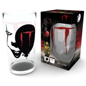 Sklenice It:Pennywise Face (objem 500 ml)