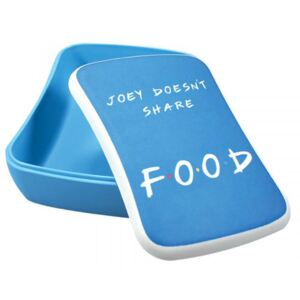 Box na svačinu Friends: Joey Does't Share Food (17 x 16 x 6 cm)