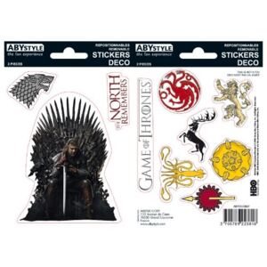ABYstyle Samolepky Game of Thrones - Stark a Sigils