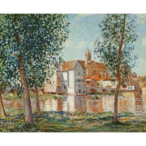 Obraz, Reprodukce - The Loing at Moret, September Morning, Alfred Sisley