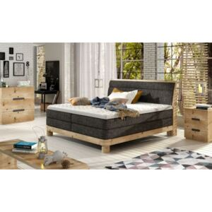 WRL Boxspring Donna massiv wood
