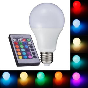 Light LED žárovka E2705 E27 5W RGB (LED žárovka E27, RGB)