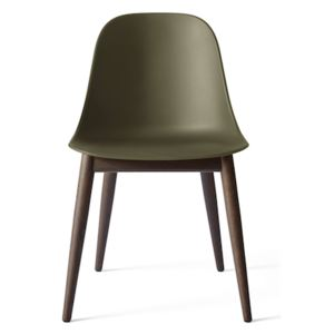 Menu Židle Harbour Side Chair Wood, Olive