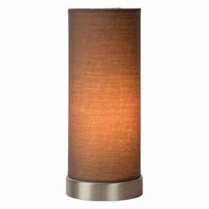 LUCIDE 03508/01/41 TUBI Table lamp E14 D10.5 H25.5cm Taupe stolní lampa