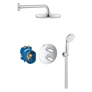 Grohe Grohtherm 1000 - Sprchový set Perfect se sprchou Temptesta 210, chrom 34614001