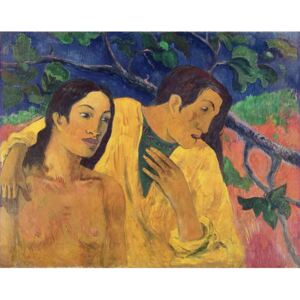 Obraz, Reprodukce - The Flight or Tahitian Idyll, 1902, Paul Gauguin