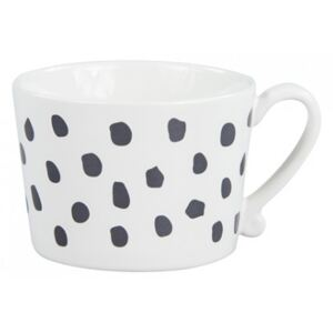 Hrnek a černé tečky, 270 ml Bastion Collections RJ-MUG-DOTS-BLACK