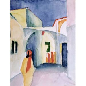 Obraz, Reprodukce - A Glance Down an Alley, August Macke