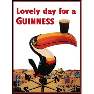 Super-home Lovely Day for a Guinness - Beer/Drinks Poster