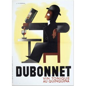 Super-home Dubonnet by A.M. Cassandre - French Advertising Poster
