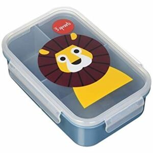 3 sprouts 3 Sprouts Lunch Bento Box 16763-Lion