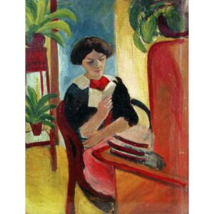 Obraz, Reprodukce - Elizabeth Reading, August Macke