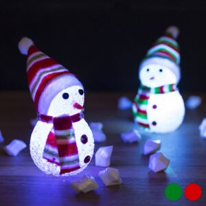 Christmas Planet LED Snowman Christmas Decoration 145896 Červený