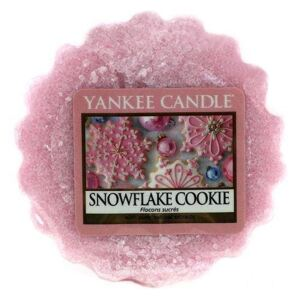 Vosk do aromalampy Yankee Candle - Snowflake Cookie (kód PODZIM2019 na -20 %)