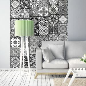 Tapeta Bimago - Arabesque - Black& White + lepidlo zdarma role 50x1000 cm