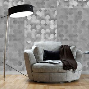 Tapeta Bimago - Light Grey Rain + lepidlo zdarma role 50x1000 cm