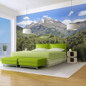 Fototapeta Bimago - Holiday in the mountains + lepidlo zdarma 200x154 cm