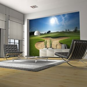 Fototapeta Bimago - Golf pitch + lepidlo zdarma 200x154 cm