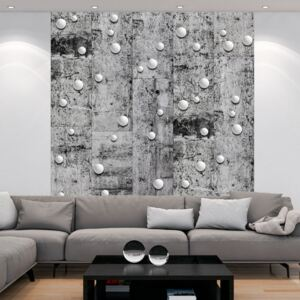 Tapeta Bimago - Pearls on Concrete + lepidlo zdarma role 50x1000 cm