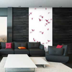 Tapeta Bimago - Red Birds + lepidlo zdarma role 50x1000 cm