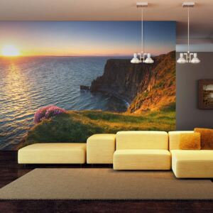 Fototapeta Bimago - Sunset: Cliffs of Moher, Ireland + lepidlo zdarma 200x154 cm