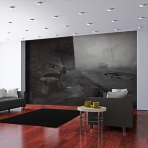 Bimago Fototapeta - City of fear 450x270 cm