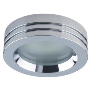 Emithor DOWNLIGHT 1xGU10/50W, CHROME,FROST.,IP65