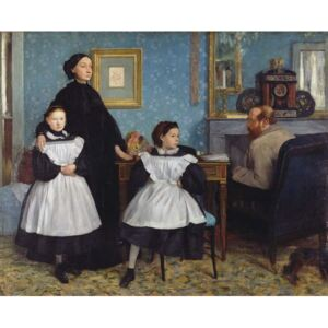 Obraz, Reprodukce - The Bellelli Family, 1858-67, Edgar Degas